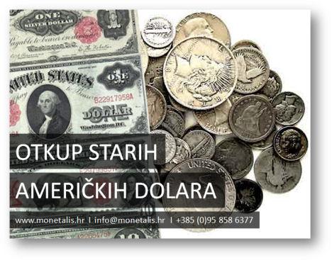 Otkup kovanica i novčanica američkog dolara