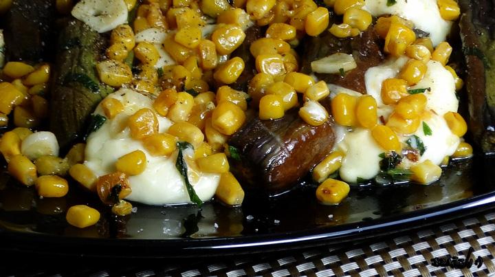 Mozzarella, mini patlidžani ... kalorije: 550