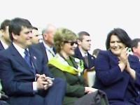 američka prva dama Laura Bush u sredini