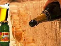 šampanjac za sve, i pago od naranče i pivo :)